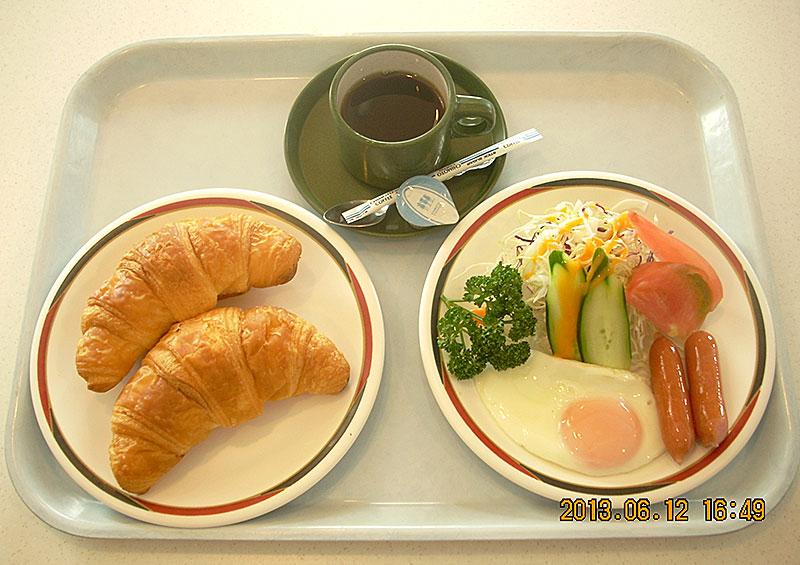 クイーンコーラルレストラン 朝食(洋食)