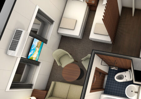 クイーンコーラルクロスの客室・パブリックスペースをご紹介します②